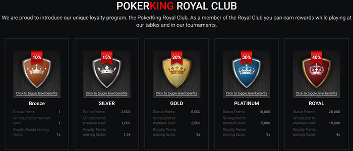 PokerKing Royal Club